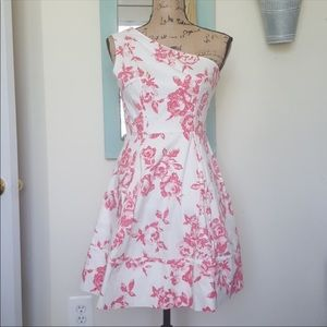 Jessica Simpson Pink & White Floral Dress NWOT